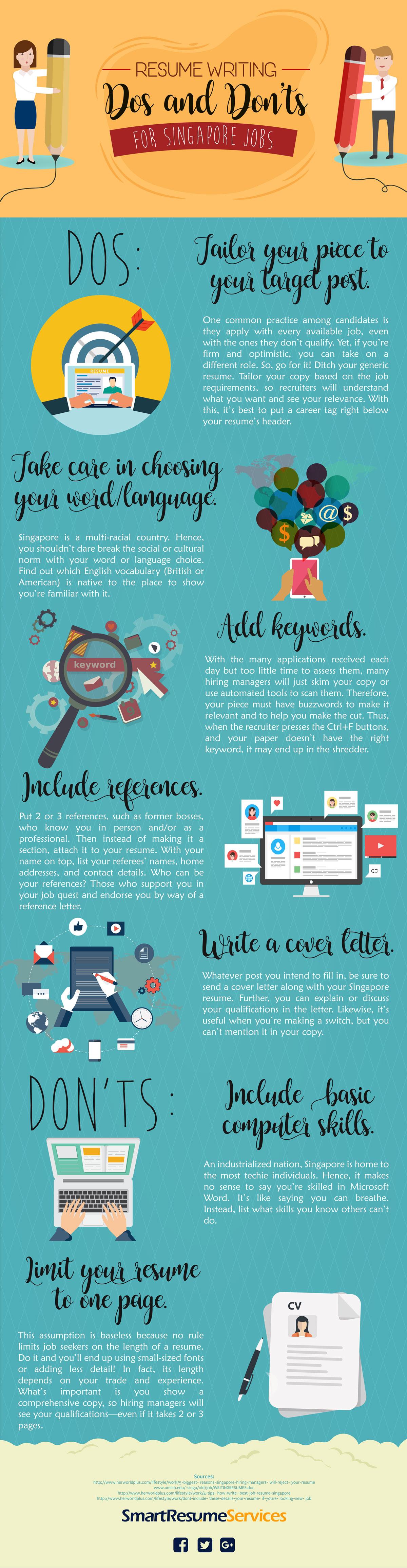 Effective Singaporean resume writing tips