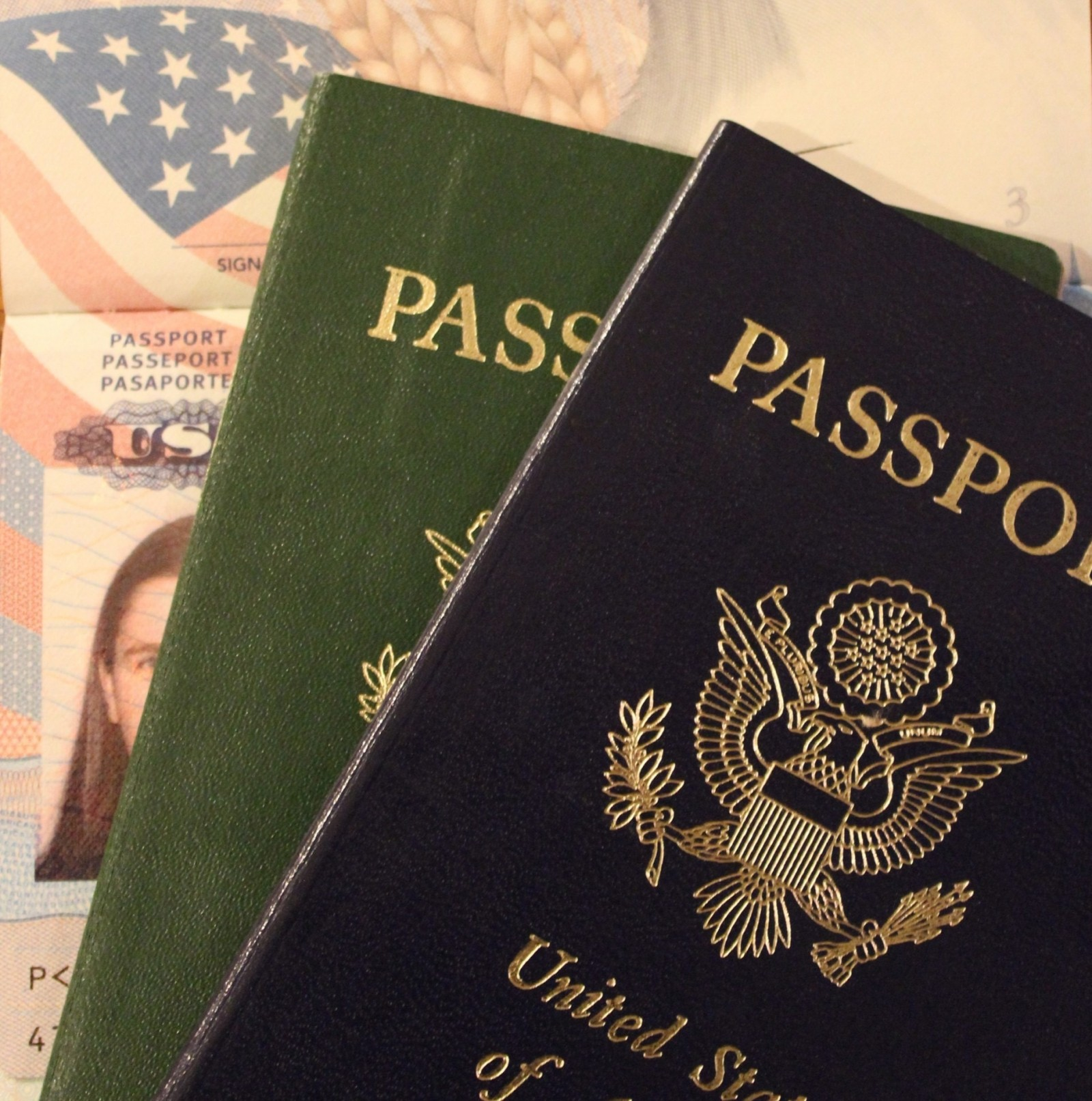 jobs in Australia for foreigners - photos of passports
