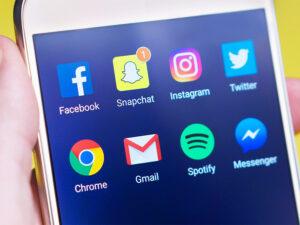 social media profile: icons